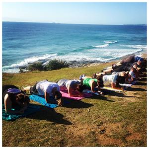 beach workout group training sunshine coast
