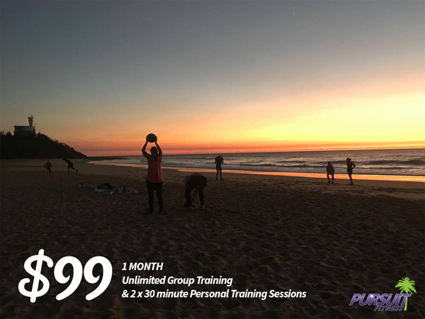 pursuit fitness spring special offer one